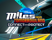 Miles from Tomorrowland promo Graphics