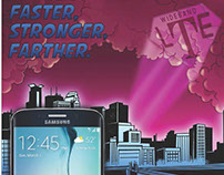 NewTasty: Comic Art Panel for T-Mobile LTE Samsung