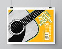 Music Poster For FiFi Guitar Studio
