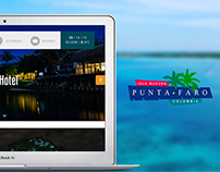 Hotel Punta Faro Website