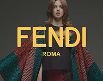 Fendi eCommerce Design