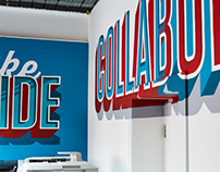 Bespoke Type Mural | Saddington Baynes : Alex Fowkes