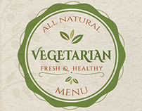 Vegetarian Food Menu
