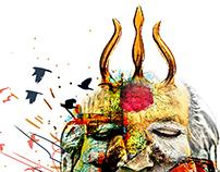 Shiva cum sadhu
