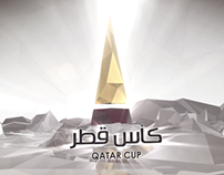 Qatar Cup Final In-Stadium Graphics Package