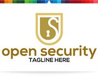 Open Security   Logo Template