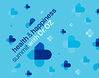 Health & Happiness Summit with Dr. Oz Event Branding