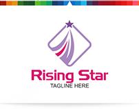 Rising Star   Logo Template