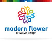 Modern Flower | Logo Template
