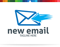 New Email   Logo Template