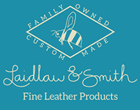Laidlaw & Smith brand identity