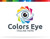 Colors Eye   Logo Template