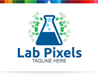 Lab Pixels   Logo Template