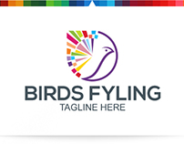 Bird Flying | Logo Template