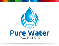 Pure Water | Logo Template