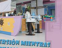 Afiche de Peluquería infantil (Aramis Kids)