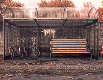 Shelter - 3Dmax, Vray and Photoshop.
