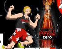 Coca Cola Zero minigame