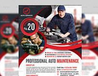 Auto Services Flyer Templates Vol.1
