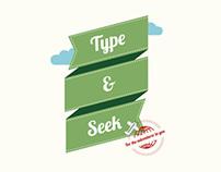 Type & Seek Adventure Kit