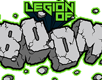 """LEGION OF BOOM"" Seattle Seahawks affiliate logos"