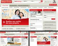 Nossa Caixa Web Site
