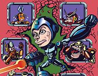 Mega Man Motivational Poster