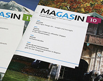 MAGASIN – EMPLOYEE MAGAZINE – BAYERNGAS-GROUP