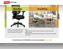 Staples Advantage Furniture Capabilities Landing Page
