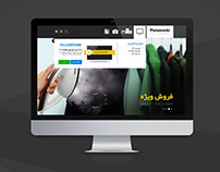 Panasonic e-commerce Website Design & Development