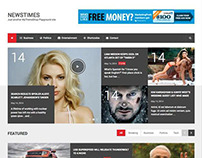 NewsTimes Responsive WordPress Magazine Style Theme