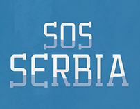 SOS Serbia Posters