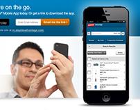 Staples Advantage - Mobile App Responsive Landing Page
