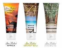 Spa Relax Tube Packaging
