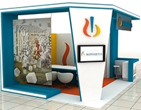 Novartis Glavus Campaign 2in1 Variable Exhibition Stand