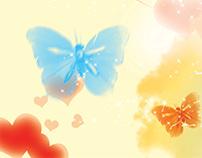 الحب قلبان بروح واحدة   love..two hearts..one soul