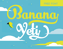 Banana Yeti Typeface - WITH 1 FREE WEIGHT