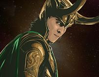 Loki Vector Art