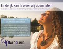HaloClinic brochure and print products design