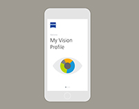 My Vision Profile Application for Carl Zeiss Vision
