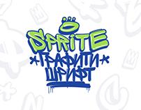 Sprite Graffiti Font (Free)