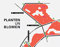MAP OF PLANTEN UN BLOMEN, city park in hh