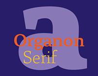 Organon Serif Type Family