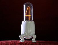Nixie Clock Egg Case