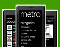 Windows Phone 8 & Windows 8 shopping app