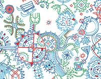graphica / estonian christmas