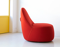 Mitt Chair For Bernhardt Design