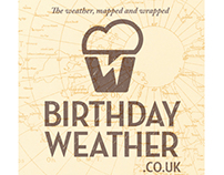 Birthday Weather Branding by Theory Unit Graphic Design