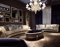 Family room , private residence Alpine,NJ