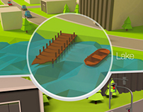 Lowpoly City Modeling